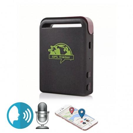 Petit traceur GPS autonomie 7 jours avec micro