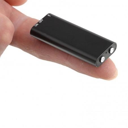 Micro enregistreur miniature lecteur mp3 10h d'enregistrement
