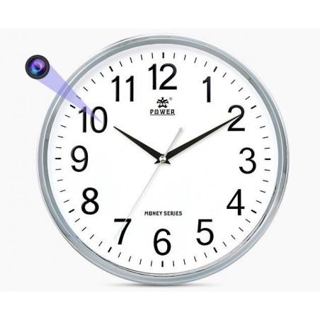 Horloge murale caméra connectée Full HD