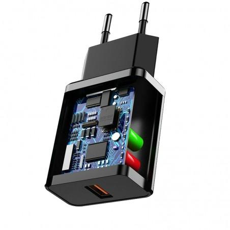 Chargeur micro surveillance espion GSM avec batterie jusqu'à 3 jours en veille