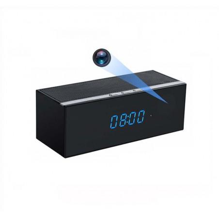 Enceinte Bluetooth camera espion WIFI Full HD détection de mouvement