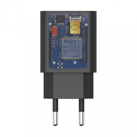 Chargeur micro espion GSM avec batterie jusqu'à 3 jours en veille